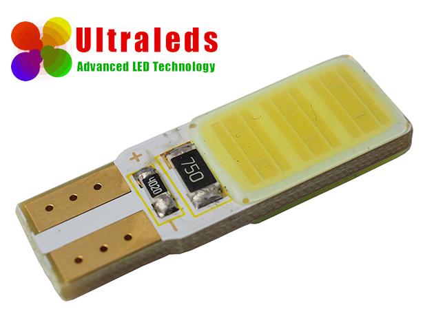 Żarówka LED W5W T10 24 Chips COB High Power CanBus Biała